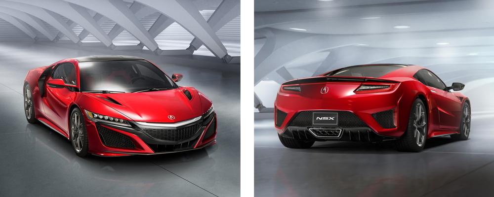 Acura NSX fue presentado en el Auto Show de Detroit
