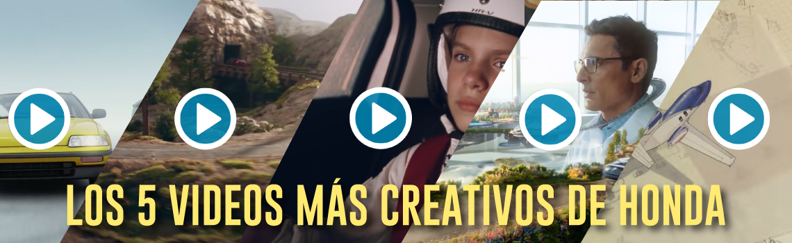 Top 5 Videos Creativos Honda