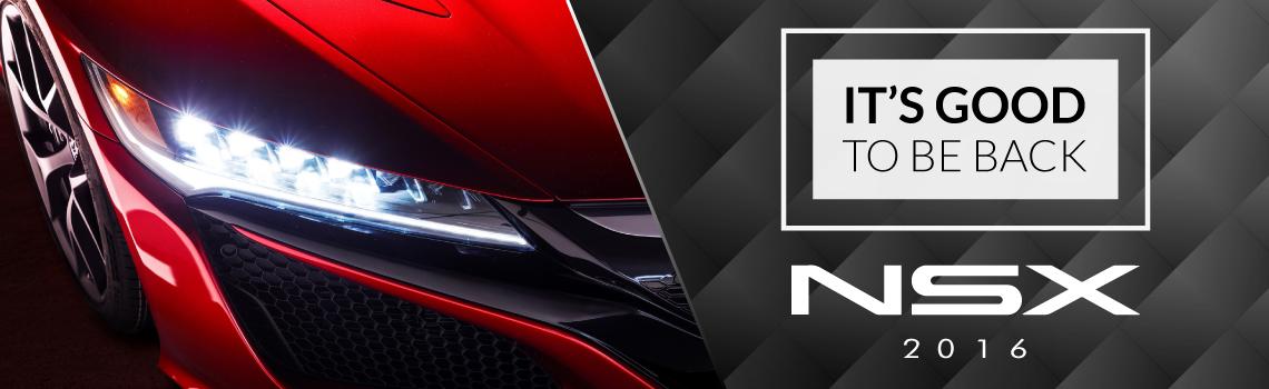 Nuevo Acura NSX