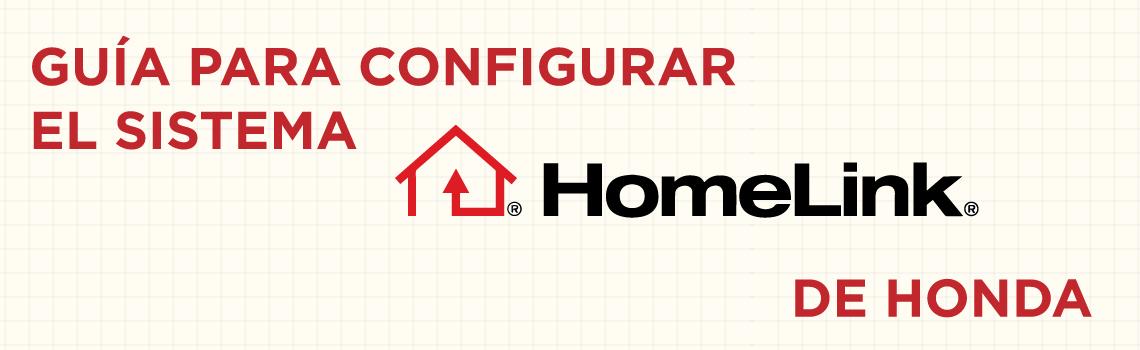 Aprende a configurar HomeLink de Honda en sencillos pasos
