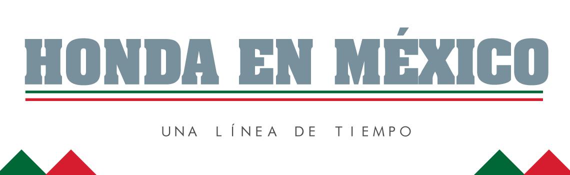 Trayectoria Honda México
