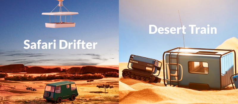 Safari Drifter y Desert Train
