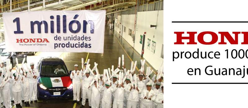1 millón de vehículos Honda en México