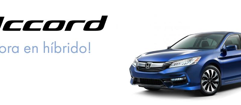 Accord 2017 Híbrido
