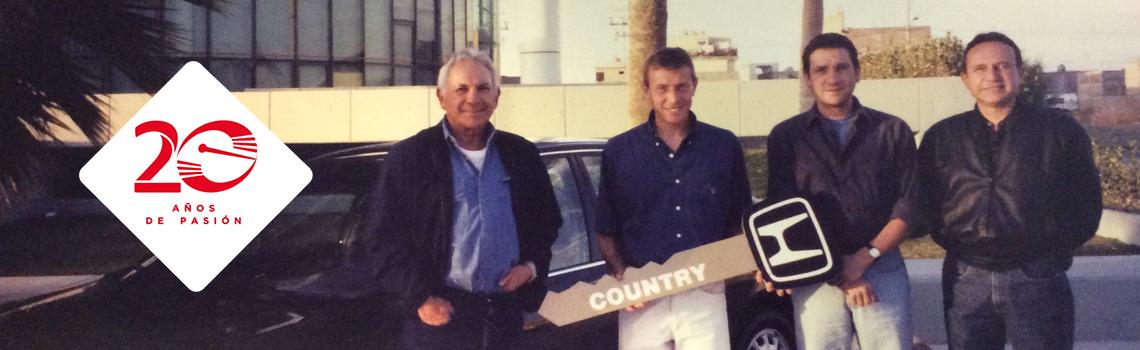20 años Honda Country