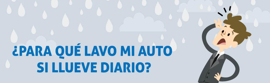 Lava tu auto incluso si llueve diario para proteger su pintura