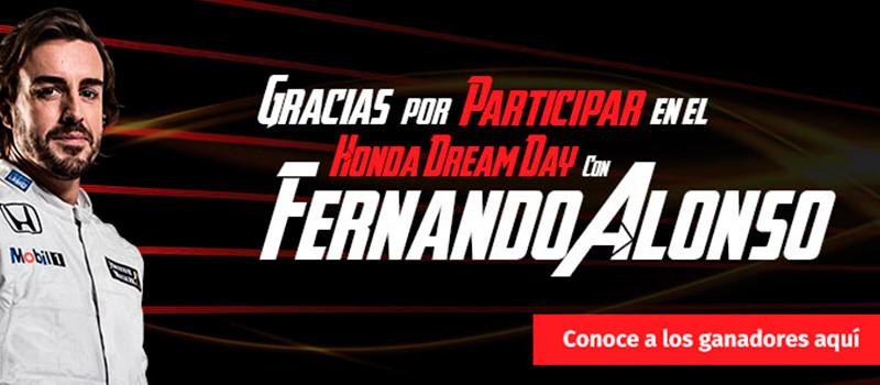 Honda Dream Day Ganadores