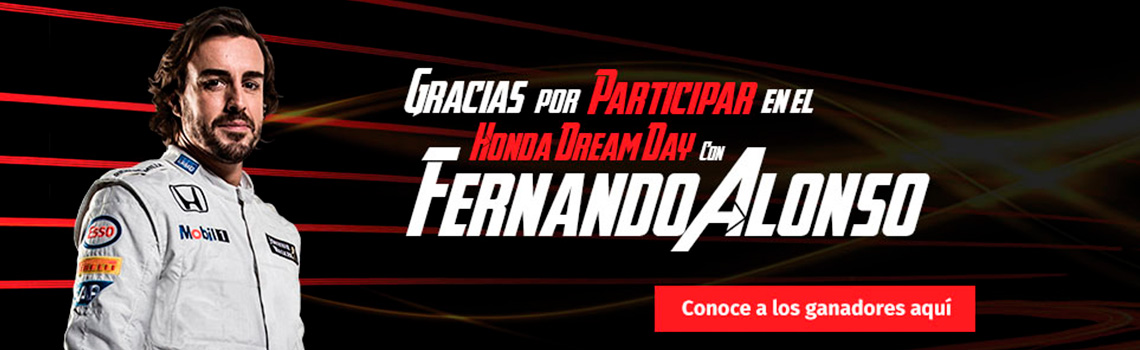 Honda Dream Day Ganadores