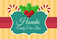 Honda Candy Cane Lane