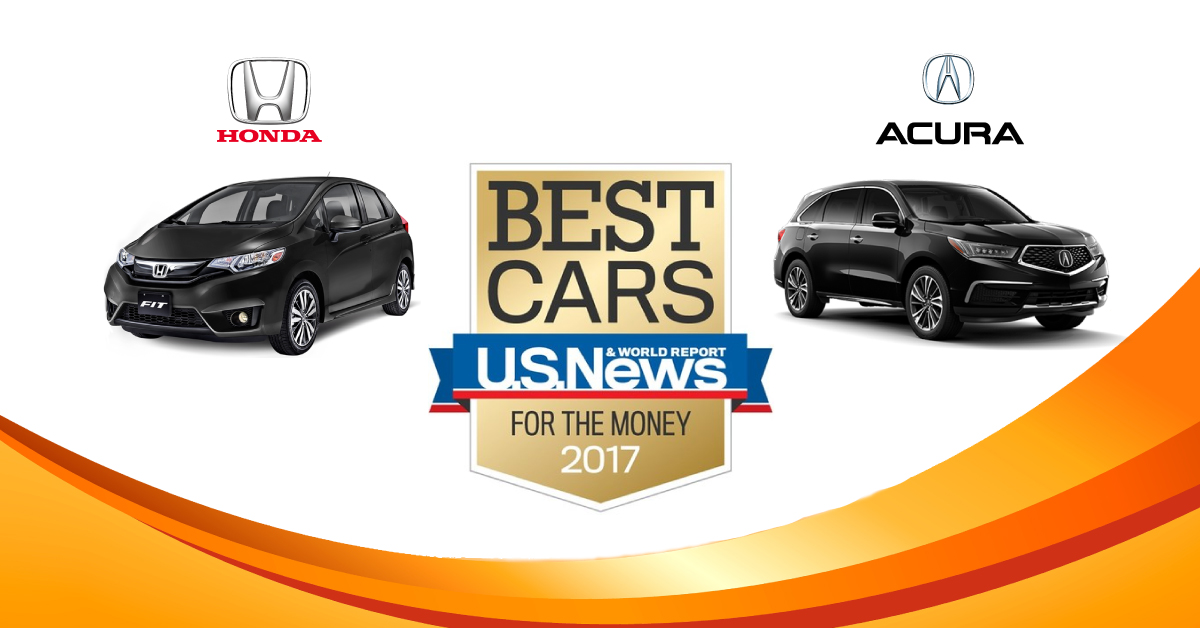 honda y acura reciben premios en 2017 best cars for the money roca news. Black Bedroom Furniture Sets. Home Design Ideas
