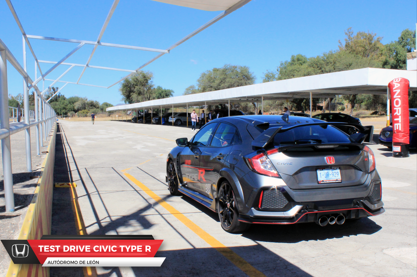 Drive Test Civic Type-R
